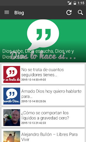 android Ministerio 7Day (App Oficial) Screenshot 6