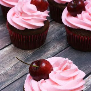 Cherry Cola Cupcakes