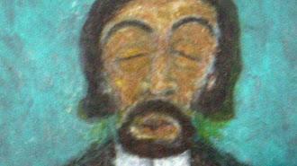 Caricatura de Antonio Cano Cervantes, realizada por el artista Juan Gerez que lo conoció. Gentileza de Diego Hernández.