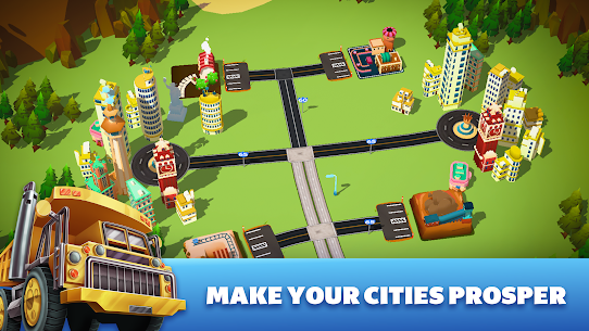 Transit King Tycoon Mod Apk (Free Shopping + Unlimited Money) 2