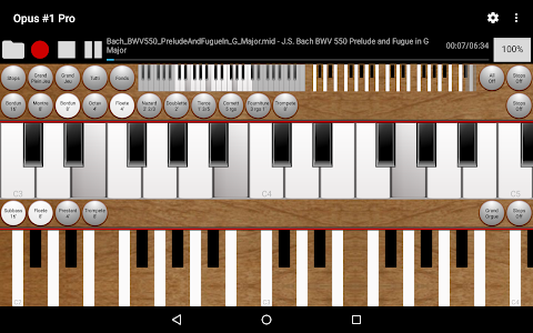Opus #1 Pro - The Midi Organ screenshot 6
