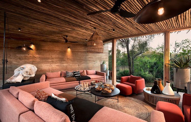 Enjoy high-end luxury at &Beyond Homestead at the Phinda private game reserve in KwaZulu-Natal.