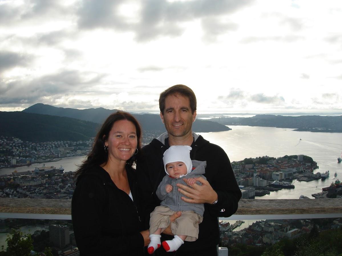 Mt Floye, Bergen