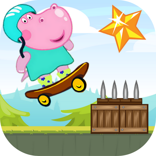 Hippo Peppa Kids Skateboard