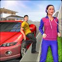 Virtual Neighbor Girl : Family Home Games APK