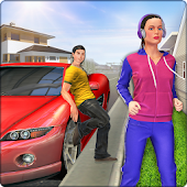 Neighbor Girl Virtual Family Games