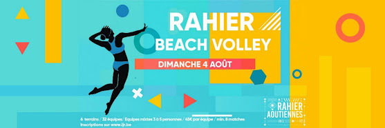 Tournoi de Beach-Volley - Aoûtiennes 2019 - RAHIER