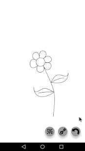 Pen Tool SVG - náhled