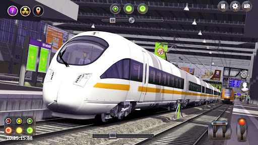 Real Russian Train Simulator:Free Train Sim 2019  captures d'u00e9cran 1