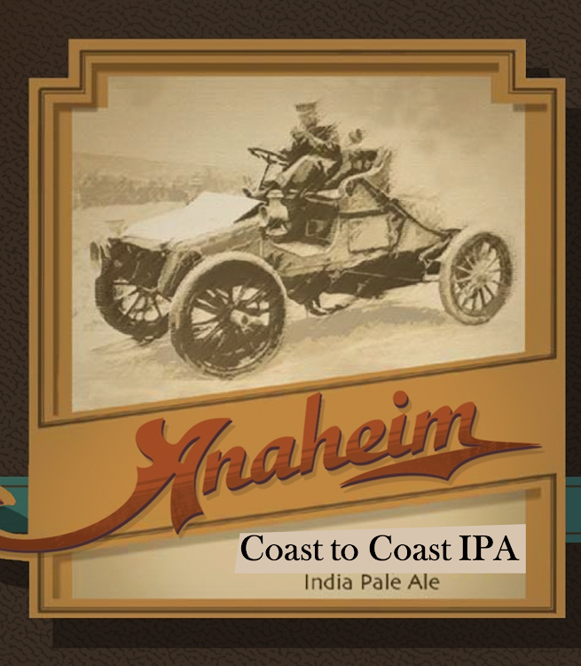 Logo of Anaheim Coast To Coast IPA