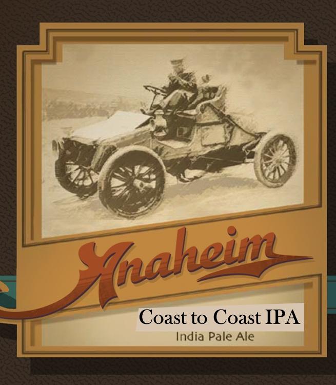 Logo of Anaheim Coast To Coast IPA
