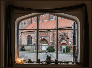 Photo: De Oll Kerk Sankt Jürgen in Waren an der Müritz ist im 14. Jahrhundert gebaut worden.