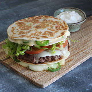 Quesadilla Bun Burger.