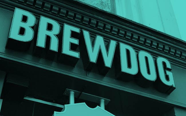 Brewdog bar.
