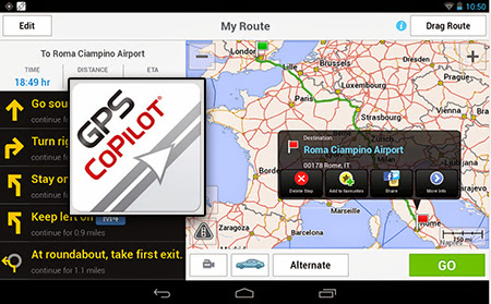Aplicaţii de navigaţie GPS pentru Android