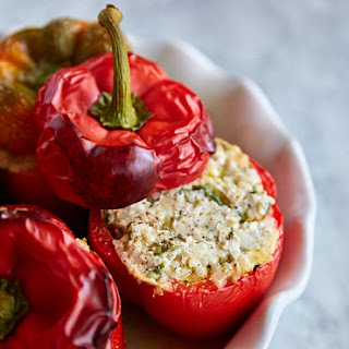 Ground Turkey and Quinoa Stuffed Peppers Recipe