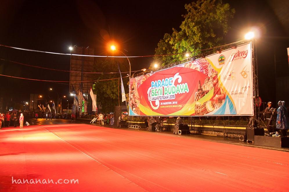 Parade Seni Budaya Jawa Tengah 2016, Kota Magelang
