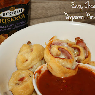 Easy Cheesy Pepperoni Pinwheels