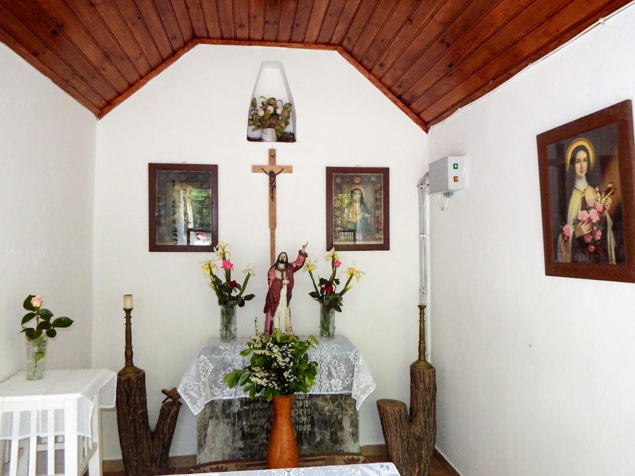 Páka - Háromszenteki kápolna a Csokma-hegyen