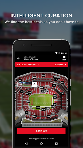 Gametime - Buy Event Tickets app (apk) free download for Android/PC/Windows screenshot