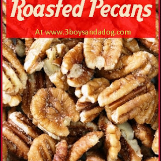 Southern Roasted Pecans.