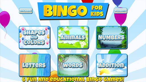 Bingo for Kids android2mod screenshots 1