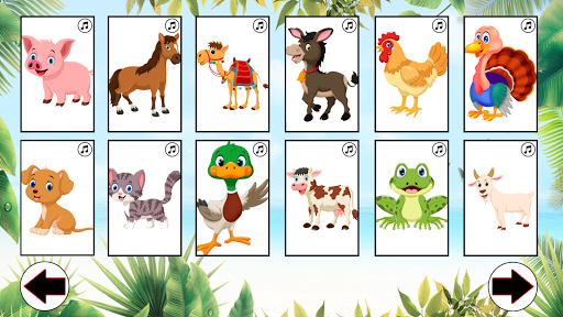 ud83dudc3b Learn animals: animal sounds u2714 1.6 screenshots 2