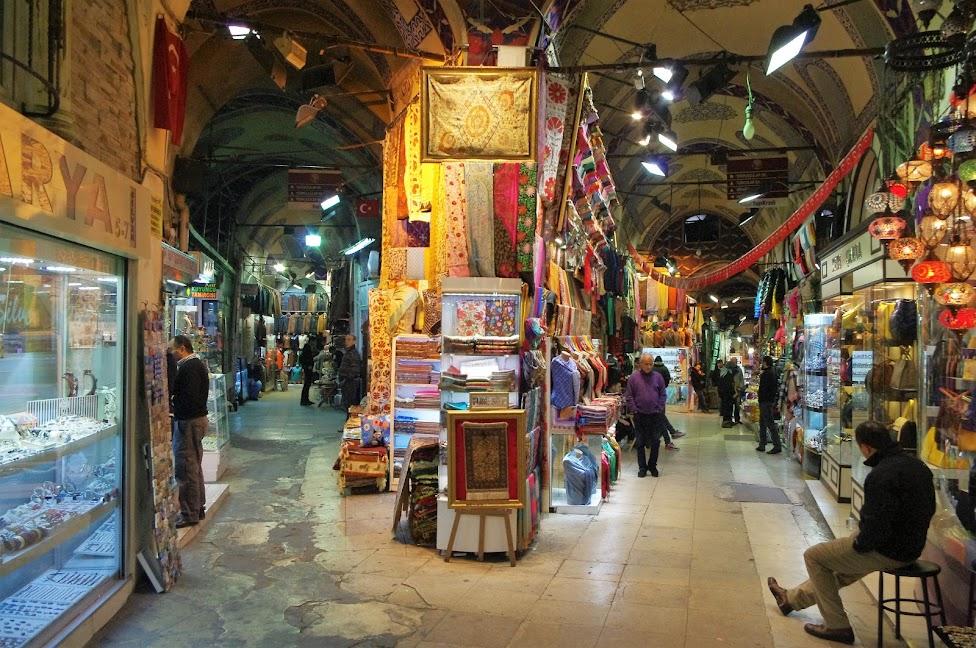 Qué ver en Estambul. Gran Bazar
