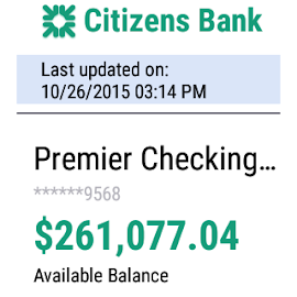 Citizens Bank Mobile Banking Screenshot 9