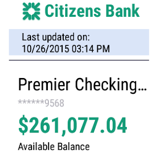 Citizens Bank Mobile Banking Screenshot 9