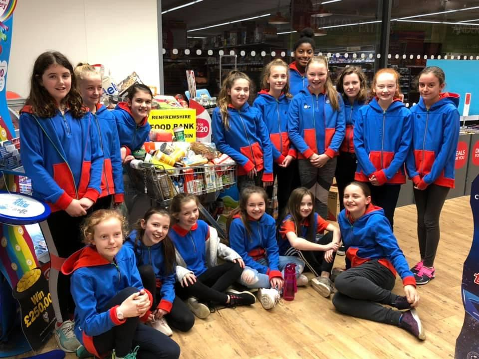 1st Guides Foodbank 5