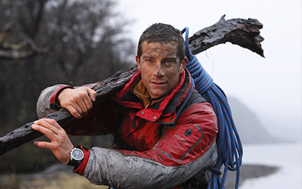 Bear Grylls with Care for Children