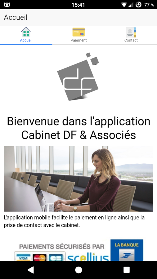 Cabinet DF & Associés- screenshot