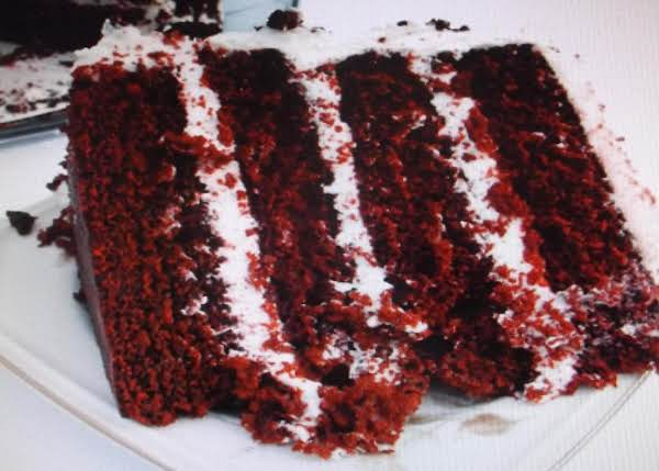 Red Devils Food Cake Recipe