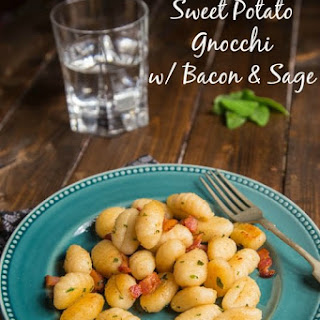Sweet Potato with Bacon & Sage