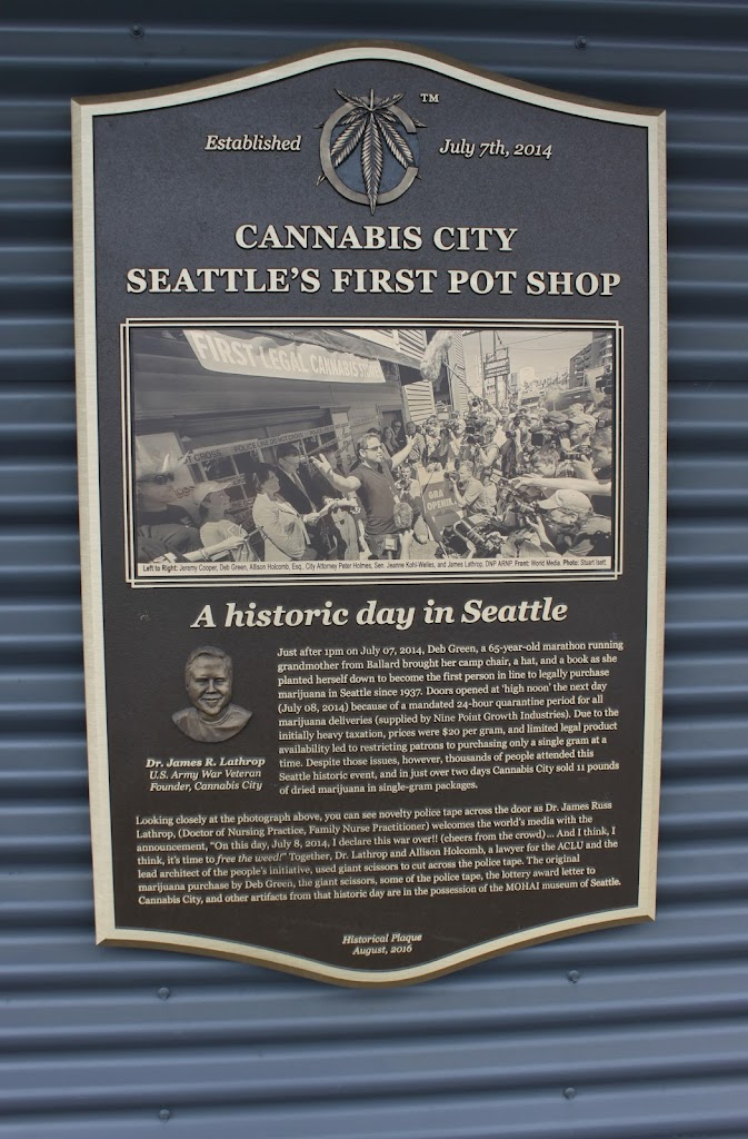 Read the Plaque - Cannabis City