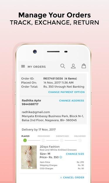 Voonik Online Shopping App screenshot 7