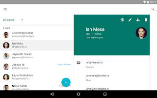 Screenshot of Google Admin