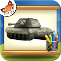 How to Draw Tanks Step by Step Drawing App icon