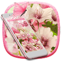 Blooming Pink Flower Theme icon