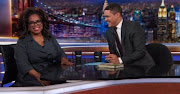 Oprah Winfrey spoke to Trevor Noah this week about her new book - as well as some other topics.