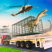 Jurassic Dinosaur Transport Offroad Truck