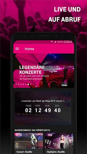 MAGENTA MUSIK 360 Exklusive Konzerte live streamen screenshot 4