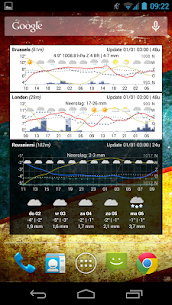 Meteogram Weather Widget – Donate version 5