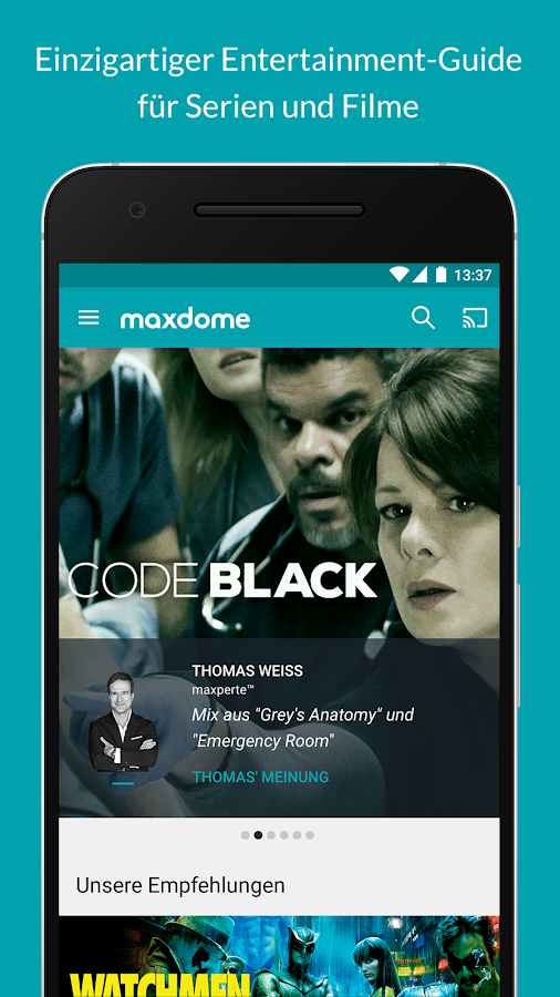 maxdome – Screenshot