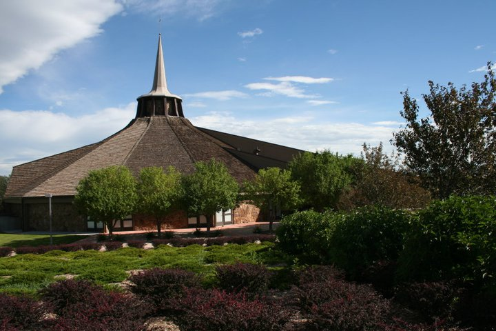 Photo: A north shot of Strickland Chapel.