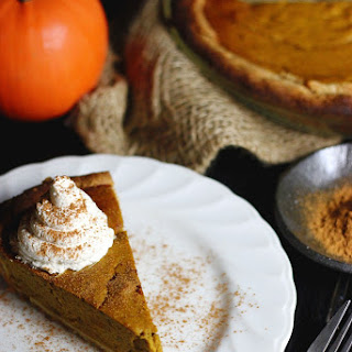 Pumpkin Pie With Stevia Recipes
