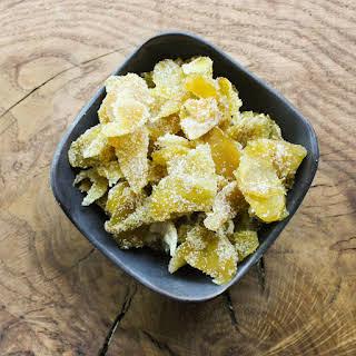 Crystallized Ginger Dessert Recipes.