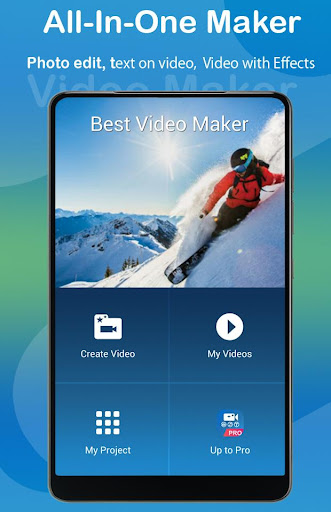 Video Editor: Video Maker With Music, Photo, Text 1.0.3 screenshots 1