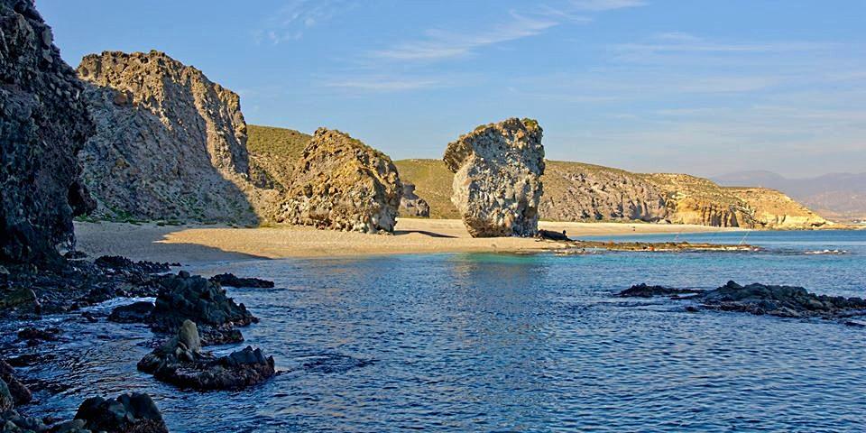 Carboneras, playa de los Muertos, Parque Natural Cabo de Gata-Níjar.